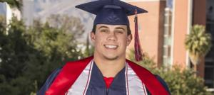 Jared Tevis graduation