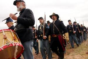 Civil War below Picacho Peak Reenactments back March 13-14