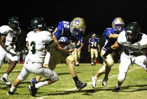 Pusch Ridge chews up yardage, Phoenix foe 51-0