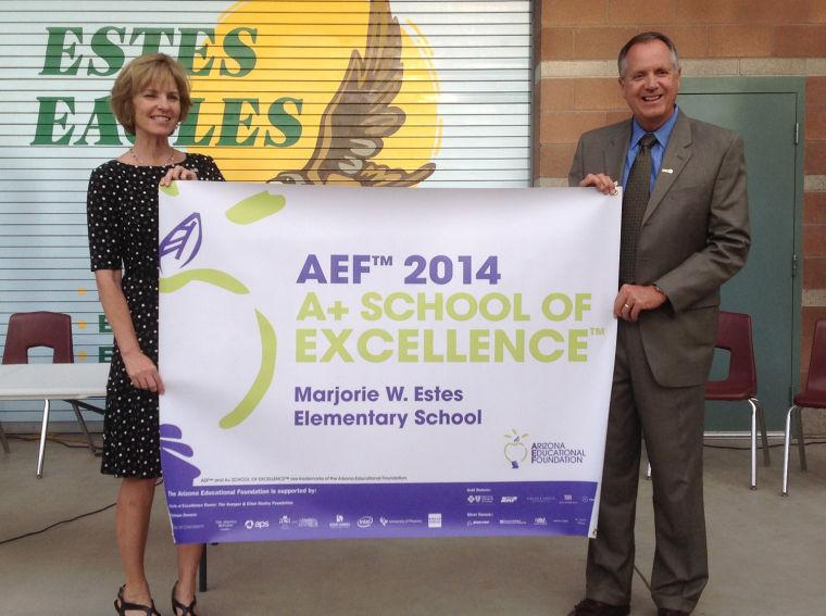 Estes Elementary earns state's top grade