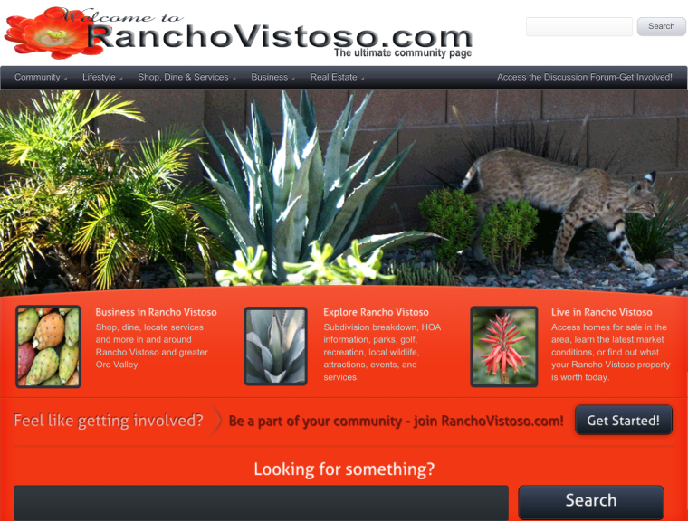 RanchoVistoso.com
