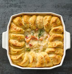 Turkey pot pie food