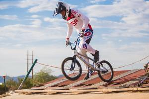 BMX Olympian gives advice to younger riders