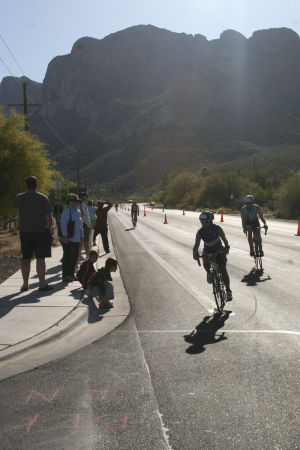 Inaugural Oro Valley Sprint Triathlon Event Held: The first triathlon was recently held in Oro Valley, with athletes and organizers calling it a success. - Courtesy Photo