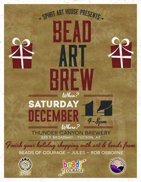 Bead Art Brew - Thunder Canyon Brewery