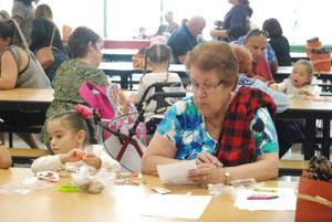 Grandparents visit schools