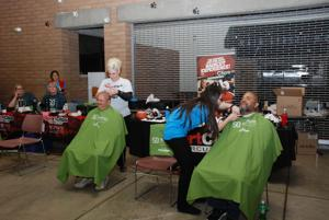 Mountain View St. Baldrick's event raises over $7,000 for research to help kids