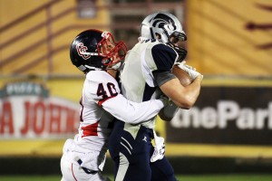 Ironwood Ridge Wins Division II State Football: Robert Klass scores the game's first touchdown, putting the Nighthawks ahead 7-3 in the second quarter.  - Jon Grimes/Special to the Explorer
