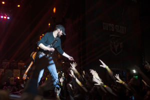 Country Thunder Day 2: Eric Church fires up the fans.  - J.D. Fitzgerald/The Explorer