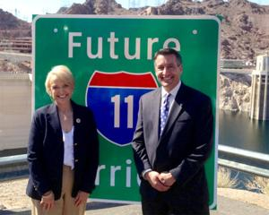 Governors Brewer and Sandoval