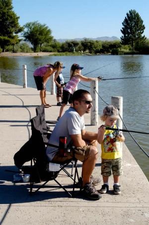 Family fishing fun