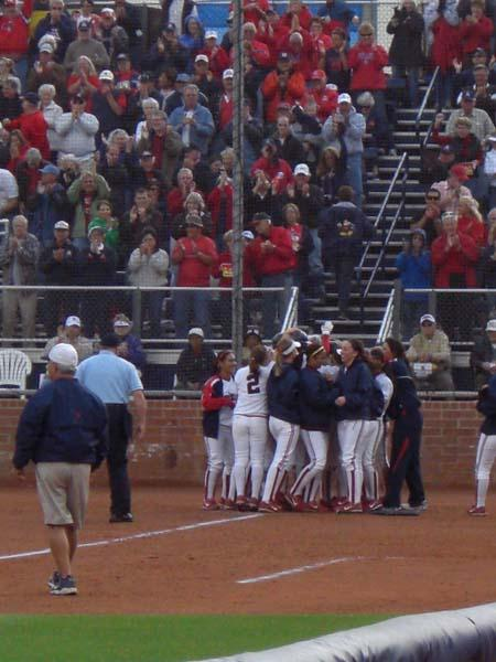 At UA, it's Softball Nation