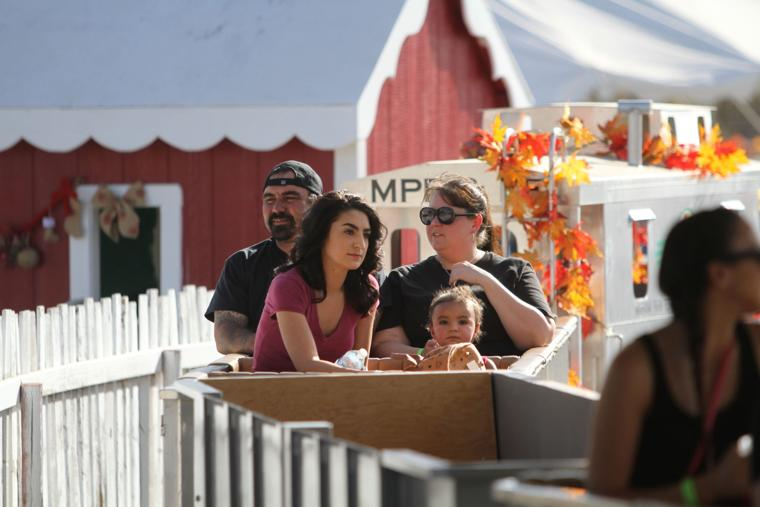 Marana Pumpkin Patch & Farm Festival 2016 Train