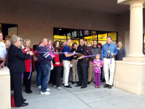 Planet Fitness: The ribbon-cutting ceremony for the newly-opened Planet Fitness.