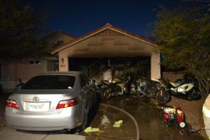 Three Buttes house fire