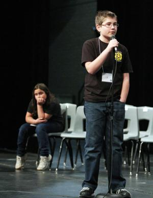 Marana Unified School District's spelling bee