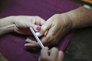 Imagen Salon: Imagen Salon & Day Spa offers nail services that include manicures, pedicures, nail art, acrylics, and hand and foot treatments. - Hannah McLeod/The Explorer