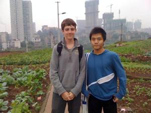 At 16, a year on his own in China