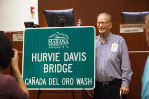 "Remembering Hurvie Davis,  the man who ""legitimized"" Marana"