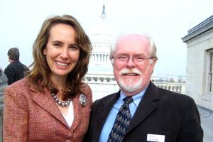 Ron Barber and Gabrielle Giffords