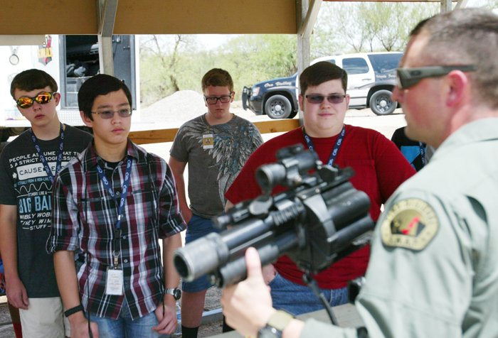 Oro Valley Police Department's Teen Academy