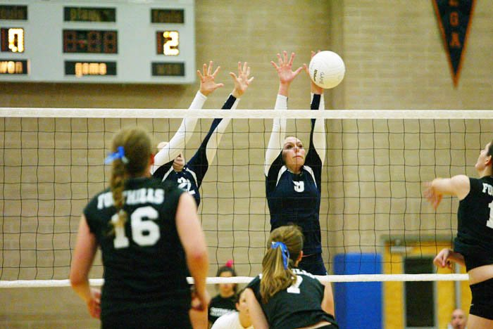IRHS vs. CFHS Volleyball