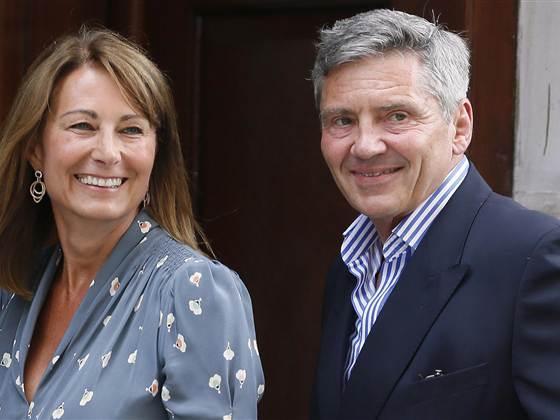 Carol and Michael Middleton
