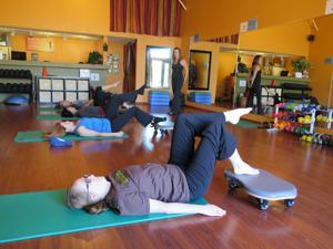 Body Resolution's exercise programs focus on stamina, flexibility, strength