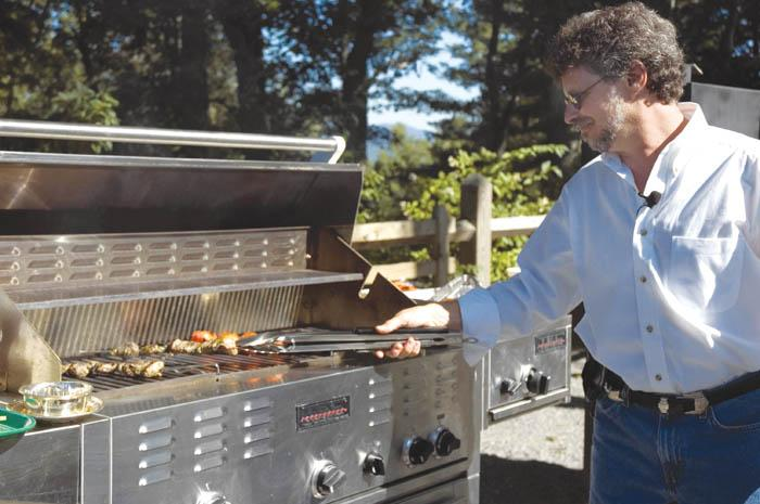 Grill master Steven Raichlen