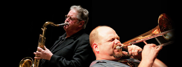 Big band extravaganza Pete Christlieb and John Allred