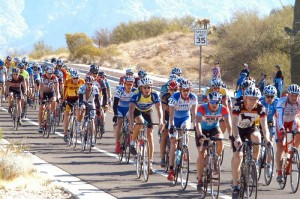 The Guide: Explorer file photo, Cyclists in El Tour de Tucson roll through the Northwest on Saturday, Nov. 23.