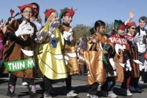 Oro Valley Holiday Parade: Dressed as their favorite cookies, Girl Scout troop 174 walks in the Eighth-Annual Oro Valley Holiday Parade in 2012. - File Photo