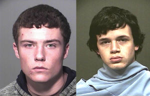 Two Teenagers Arrested For Northwest Arsons: 16-year-old Nathan Ayers and 18-year-old Dariun Beech were arrest on Feb. 3 for arson charges in the northwest. They are responsible for three separate fires near Magee and Shannon Road. - PCSD