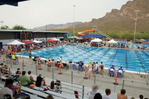 Oro Valley swim meet