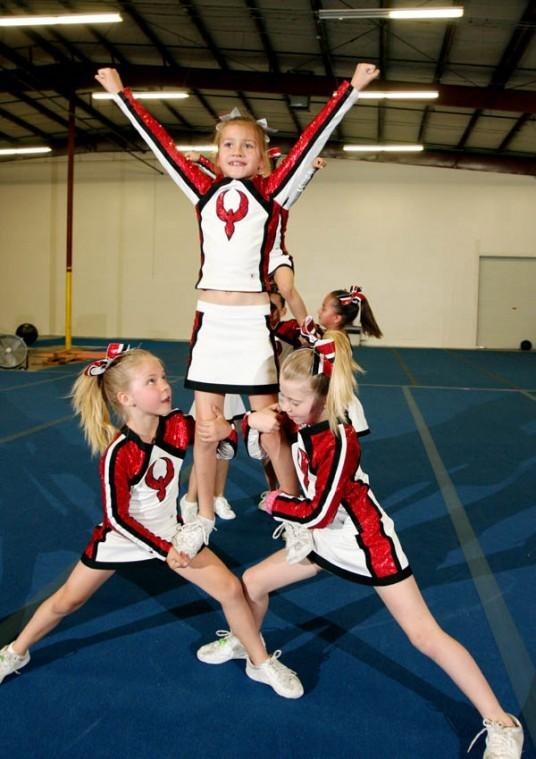 Firebirds cheer squad