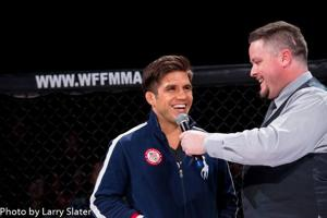 Olympic gold medalist & UFC fighter returns to where his MMA career began