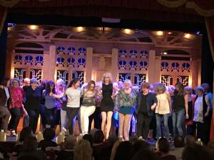 "Hundreds flocked to the Gaslight Music Hall last month  to laugh, cry and relate during ""Menopause: The Musical"""