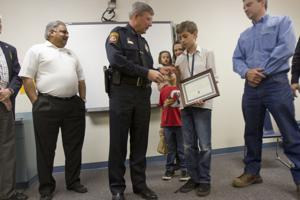 Youth helps police find missing person