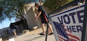 Election - Randy Metcalf/Explorer Newspaper