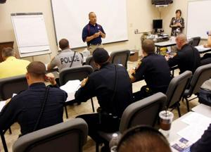 Police begin training on 1070