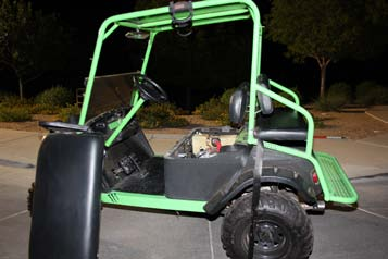 16-year-old student killed in crash after golf cart rolls over