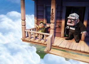 'Up' animated, inspired, realistic