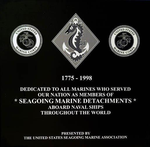 USSMA Plaque
