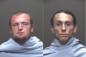 Two Men Arrested After Body Found On Redington Road: Jesse Ray Simonsen, left, and Richard Radvansky, right, were both booked into the Pima County Adult Detention Center on one count of Manslaughter each. - Pima County Sheriff Department