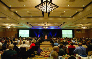 Oro Valley State Of The Town: More than 600 people turned out for the Oro Valley State of the Town Address and Luncheon last week. - Randy Metcalf/The Explorer