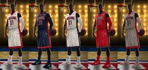 New Arizona uniforms