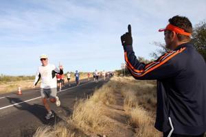 Marathon people