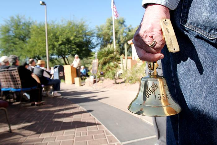 Bell tolls for vets
