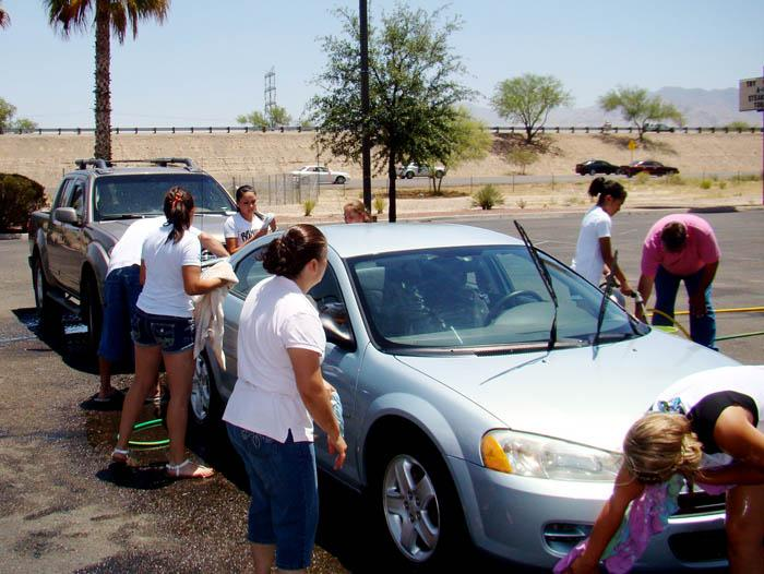 Arizona Rampage car wash