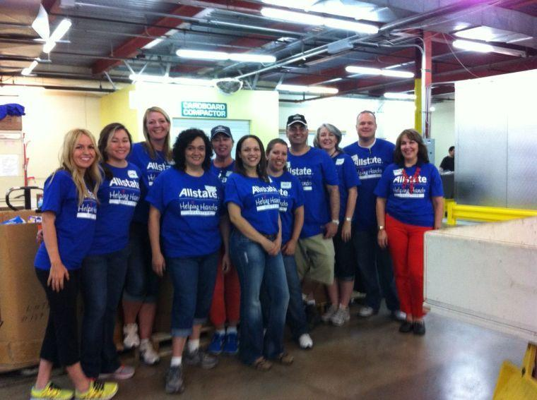 Allstate teams with Community Foodbank